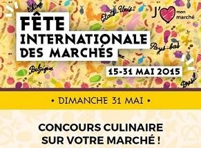 Concours culinaire sur le Marché de Croissy-sur-Seine