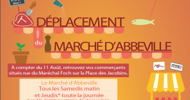 Déplacement du Marché de Abbeville
