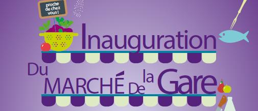 Inauguration du Marché de la Gare à Rosny-Sous-Bois
